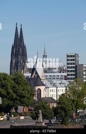 Koelner Dom , Koeln, Nordrhein-Westfalen, Deutschland  I Cathedral,  Cologne, North Rhine-Westphalia, Germany - Stock Photo