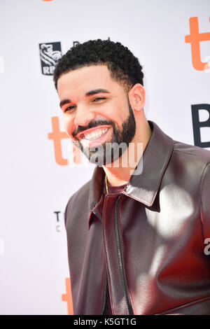 Toronto, Ontario, Canada. 9th Sep, 2017. DRAKE attends 'The Carter Effect' premiere during the 2017 Toronto International - Stock Photo
