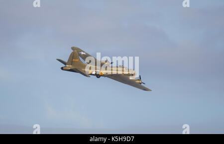 Boeing B-17G Flying Fortress - Sally B - Stock Photo