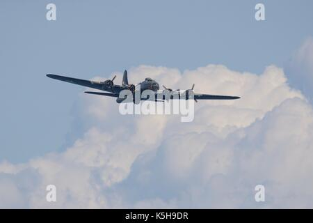 Boeing B-17G Flying Fortress - Sally B - Stock Photo