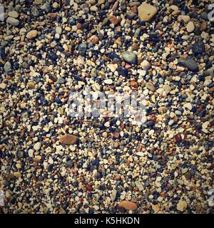 Abstract colorful background with small stones