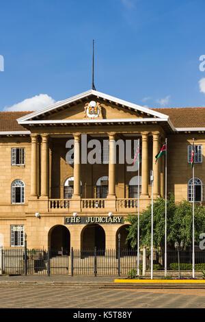 The Judiciary law Court building exterior, Nairobi, Kenya - Stock Photo