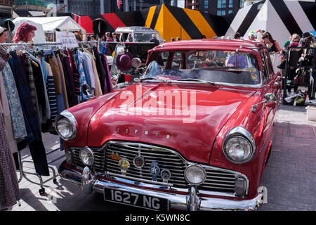King's Cross classic car boot sale. Vintage fashion, homeware and ...
