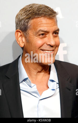 Toronto, Canada. 10th Sep, 2017. George Clooney during the 'Suburbicon' photocall during the 42nd Toronto International - Stock Photo