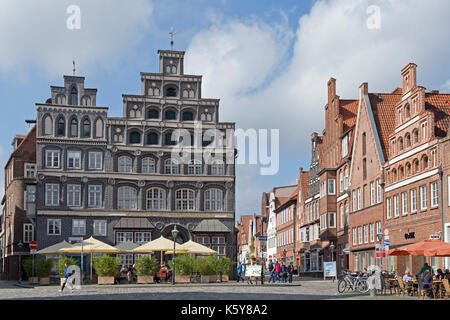 chamber of industry and commerce, Am Sande, Lueneburg, Lower Saxony, Germany - Stock Photo