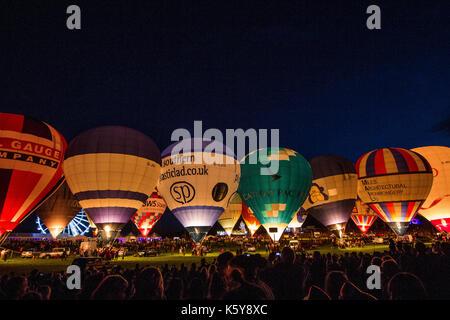 Bristol hot air balloon fiesta