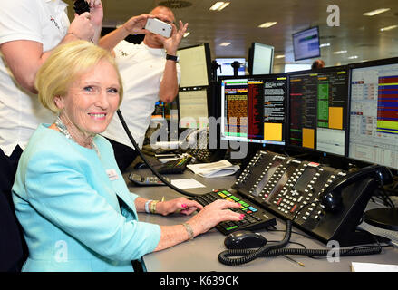 Mary Berry during the 13th BGC Annual Charity Day at Canary Wharf in London, in commemoration of the 658 employees - Stock Photo
