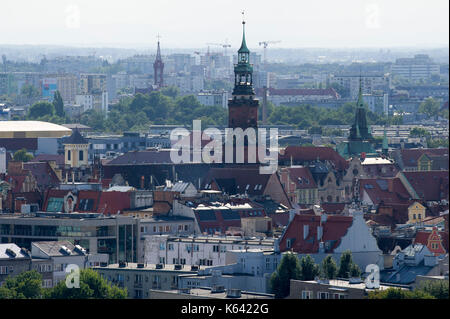 Gothic Stary Ratusz (Old Town Hall) on Rynek (Market Square), Old Town in Wroclaw, Poland. 23 August 2017 © Wojciech - Stock Photo