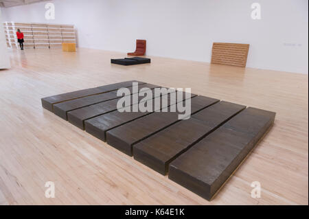 Tate Britain, London, UK. 11th Sep, 2017. Major new exhibition of work by contemporary artist Rachel Whiteread runs - Stock Photo