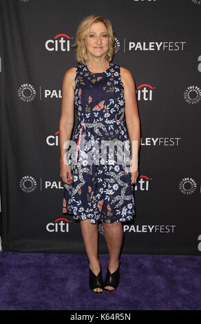 Beverly Hills, Ca. 11th Sep, 2017. Edie Falco, at 2017 PALEYFEST FALL TV PREVIEW: LAW & ORDER TRUE CRIME: THE MENENDEZ - Stock Photo