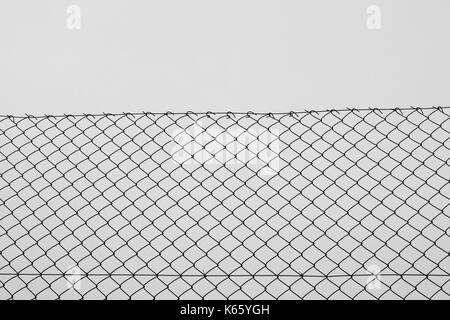 Chain link fencing iron wire mesh silhouette background texture ...