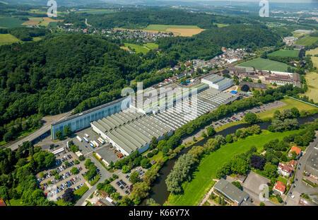 Bilstein trade KG, bilstein cold band, Hohenlimburg center, center, Hagen, Ruhr area, North Rhine-Westphalia, Germany - Stock Photo