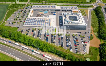 ENERVIE - Südwestfalen energy and water AG, power companies, Hauptverwaltun Hassley, office complex on Sauerlandlinie, - Stock Photo