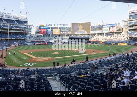Yankees x Rockies 2014 Baseball New York City - Stock Photo