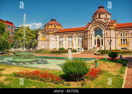 Central Mineral Baths in Sofia (Bulgaria), HDR-technique - Stock Photo
