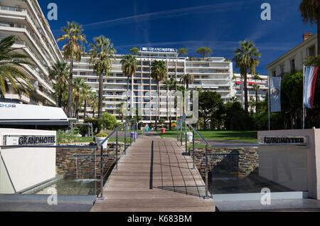 Le Grand Hotel, Boulevard de la Croisette, Cannes, France