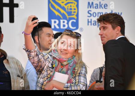 Toronto, Ontario, Canada. 12th Sep, 2017. GARRET HEDLUND attends 'Mudbound' premiere during the 2017 Toronto International - Stock Photo