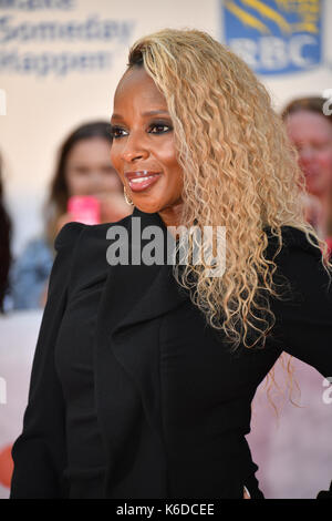 Toronto, Ontario, Canada. 12th Sep, 2017. MARY J. BLIGE attends 'Mudbound' premiere during the 2017 Toronto International - Stock Photo