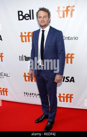 Toronto, ON. 12th Sep, 2017. Jason Clarke at arrivals for MUDBOUND Premiere at Toronto International Film Festival - Stock Photo
