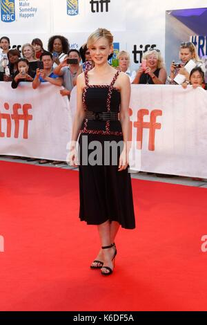 Toronto, ON. 12th Sep, 2017. Carey Mulligan at arrivals for MUDBOUND Premiere at Toronto International Film Festival - Stock Photo