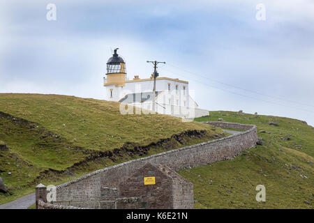 Stoer Head Lighthouse, Sutherland, Scotland - Stock Photo