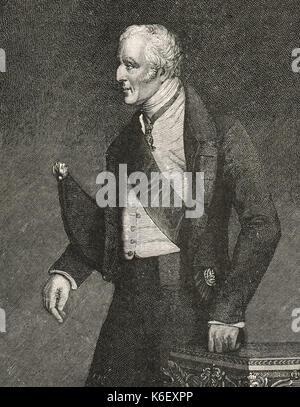 Arthur Wellesley, 1st Duke of Wellington - Stock Photo