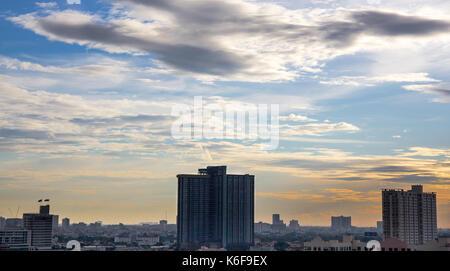 View of sky in Bangkok - Stock Photo