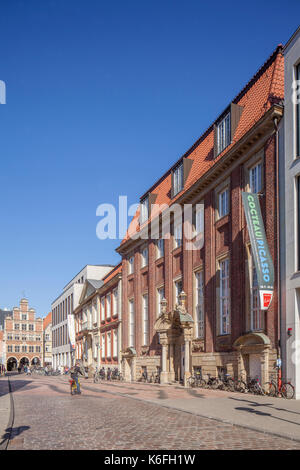 Muenster in Westfalen :  Kunstmuseum Piacassomuseum I Art Museum Picasso, Münster in Westphalia , North Rhine-Westphalia, - Stock Photo