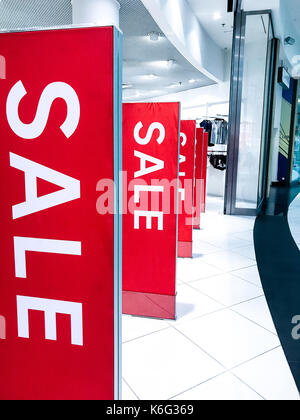 Sale shopping season promotion - Stock Photo