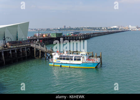 Southend Pier, Southend-on-Sea, Essex, England, United Kingdom, UK - Stock Photo
