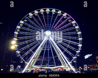 Big Wheel, Birmingham UK 2016 - Stock Photo