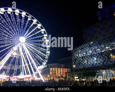 Big Wheel, Birmingham UK 2016 - Stock Photo