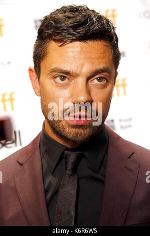 Toronto, Canada. 12th Sep, 2017. Dominic Cooper attending the 'The Escape' premiere during the 42nd Toronto International - Stock Photo