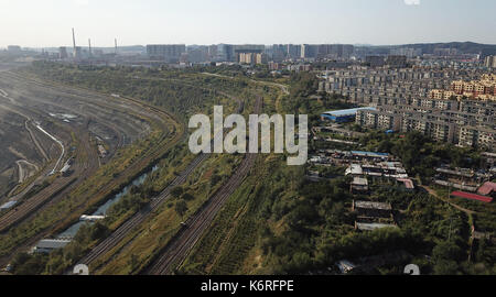 Fushun, Fushun, China. 13th Sep, 2017. Fushun, CHINA-13th September 2017: (EDITORIAL USE ONLY. CHINA OUT).The open - Stock Photo