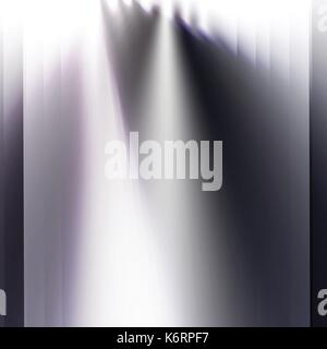 abstract blended black and white lights and shades on stage background - Stock Photo