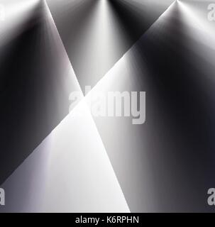abstract black and white blended lights and shades background new modern and creative arts for background and wallpaper, - Stock Photo