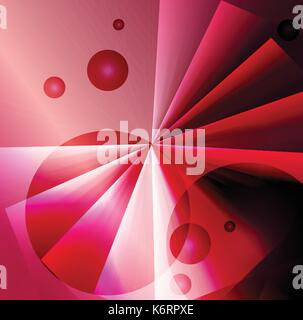 abstract blended red color background - Stock Photo