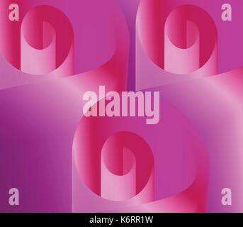 abstract blended pink flowers background - Stock Photo