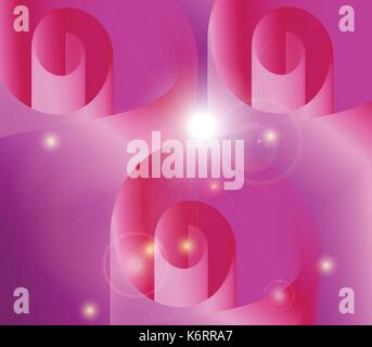 Abstract Blended Pink Color Flowers background - Stock Photo