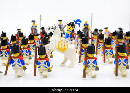 lego soldier rally Stock Photo: 159108080 - Alamy