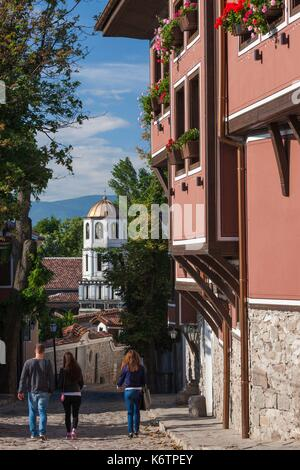 Bulgaria, Southern Mountains, Plovdiv, Old Plovdiv, Ethnographical Museum, exterior - Stock Photo
