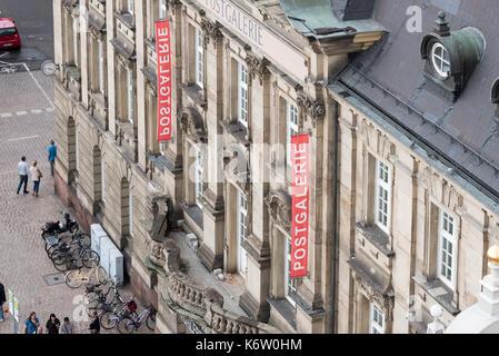Speyer, GER, Rheinland-Pfalz - September 02, Speyer von Oben, Altpörtel Aussichtsplattform . Im Bild: Blick auf - Stock Photo