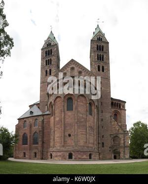 Reisen, Deutschland, Rheinland-Pfalz, Speyer, Innenstadt, September 04. - Stock Photo