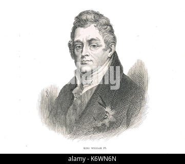 William IV King of the United Kingdom of Great Britain and Ireland, King of Hanover, 26 June 1830 – 20 June 1837 - Stock Photo