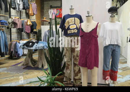 Urban Outfitters in Herald Square, NYC, USA - Stock Photo