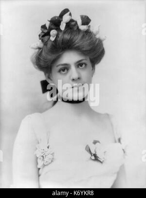 Ethel Barrymore by Burr McIntosh, 1901 - Stock Photo