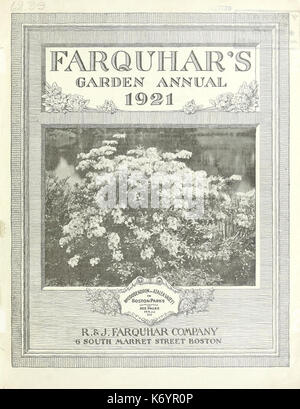 Farquhar's garden annual (16389040735) - Stock Photo