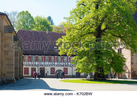 Germany, Baden-Württemberg, Maulbronn. Kloster Maulbronn (Maulbronn Monastery), UNESCO World Heritage Site.