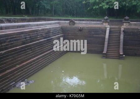 Anuradhapura, Twin Ponds, Sri Lanka, Asia - Stock Photo