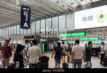 Hong Kong International Airport Check Lap Kok. Jayne Russell/Alamy Stock Photo - Stock Photo